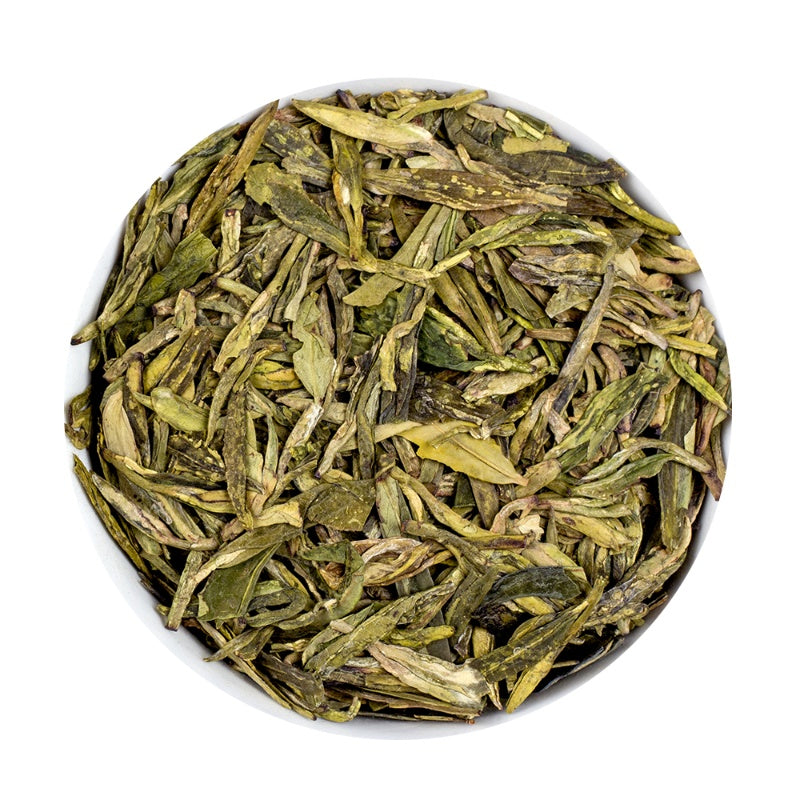 Longjing  - Argent Loose Leaf Green Tea Tin, 100g