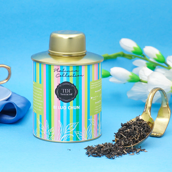 Bi Luo Chun Loose Leaf Green tea Tin, 100g