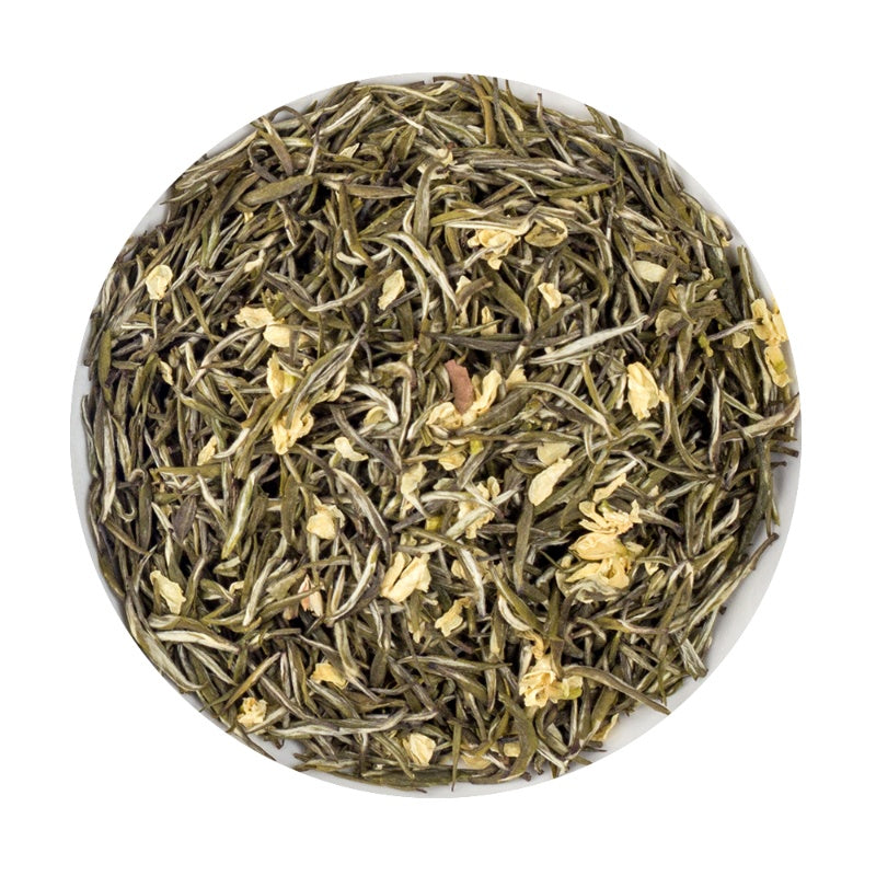 Chinese Chanxin - Platine Jasmine loose leaf Tea tin, 100G