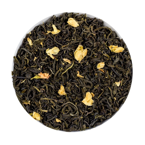 Chinese Jasmine Tea - Argent Loose Leaf Tea Tin, 150G