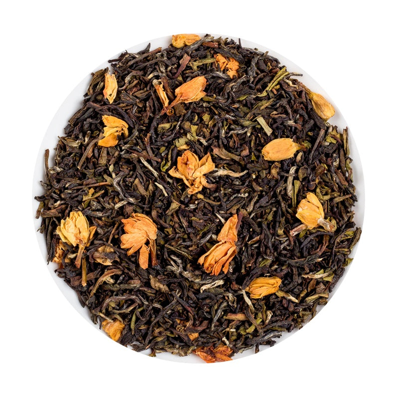 Indian Organic Black Jasmine Loose Leaf Tea Tin, 150G