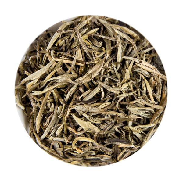 Chinese White Silver Needle Jasmine Small Bud Loose Tea Tin, 75G