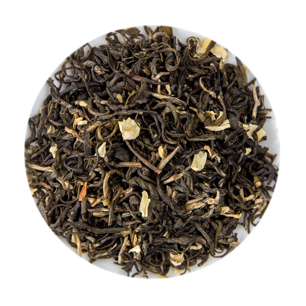 Chinese Jasmine Snowflakes Loose Leaf Tea Tin, 100G