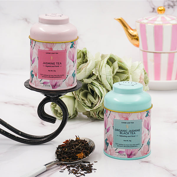 Two Mini Mood Uplifting Jasmine Teas, 2x25g