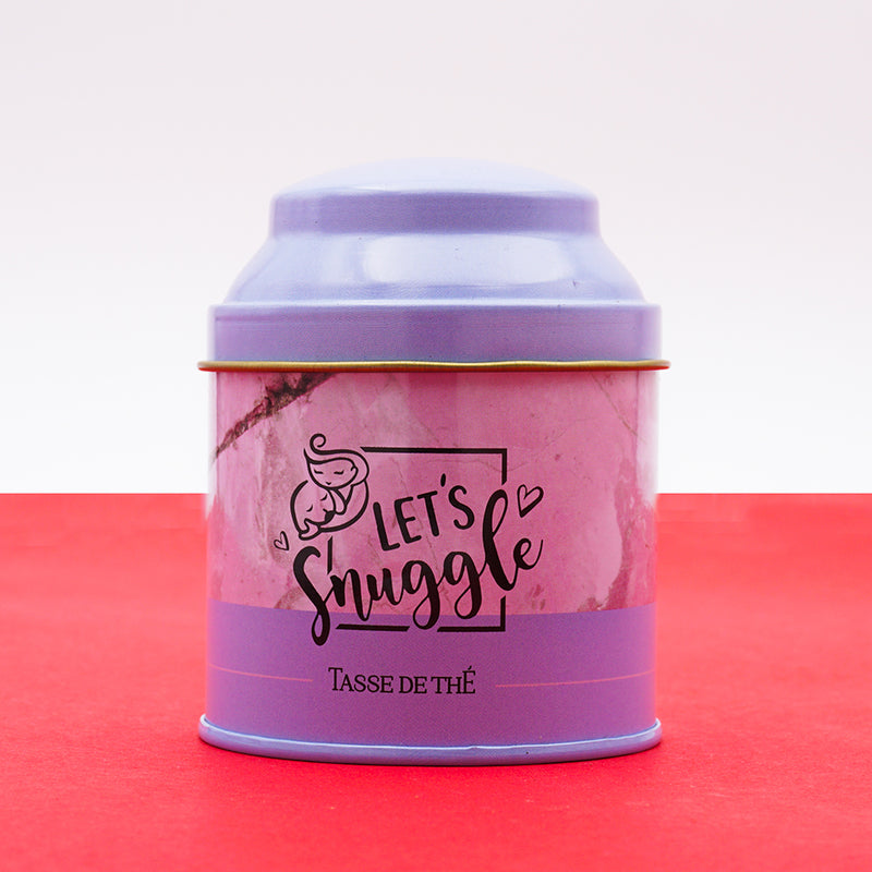 Organic Red Rooibos Herbal Tea + Let's Snuggle Tin
