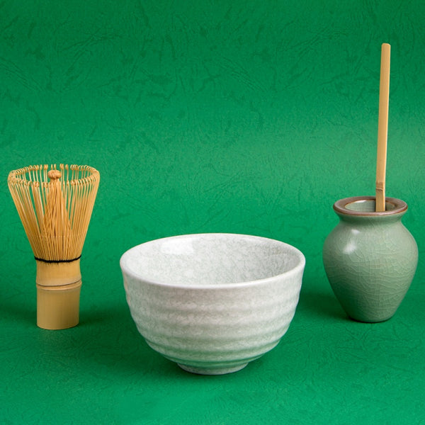 Green Matcha Tea Set