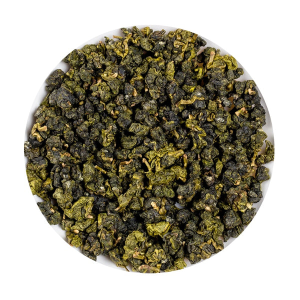 Alishan High Mountain Oolong Tea - Or Loose Leaf Tea Acrylic Jar, 75 g