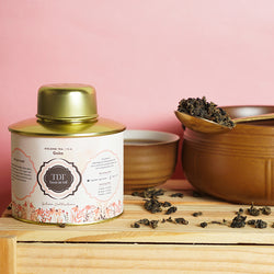 Gaba Oolong Tea - Or LOOSE LEAF TEA TIN, 100 G