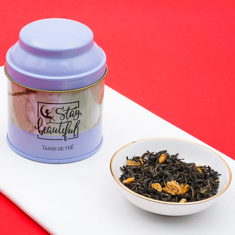 Jasmine Tea - Argent + Stay Beautiful Tin