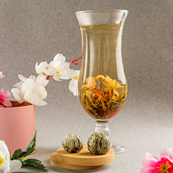 The Jasmine Bouquet Blooming Tea pouch,  20pcs