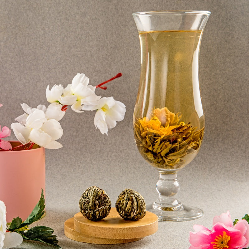 Marriage of Marigold Blooming Tea, 10pcs