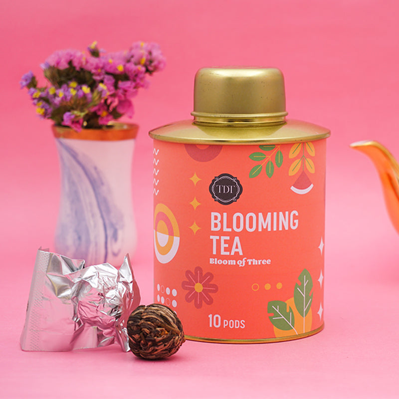 Bloom of Three Blooming Tea pouch, 20pcs
