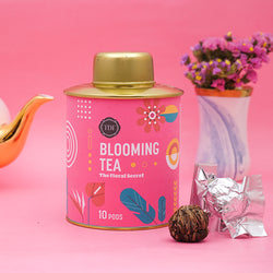 The Floral Secret Blooming Tea pouch, 20pcs