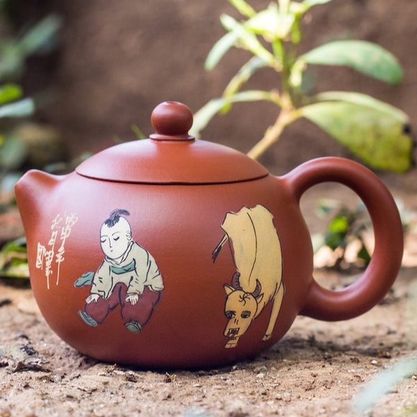 Yixing Boy Tea Pot