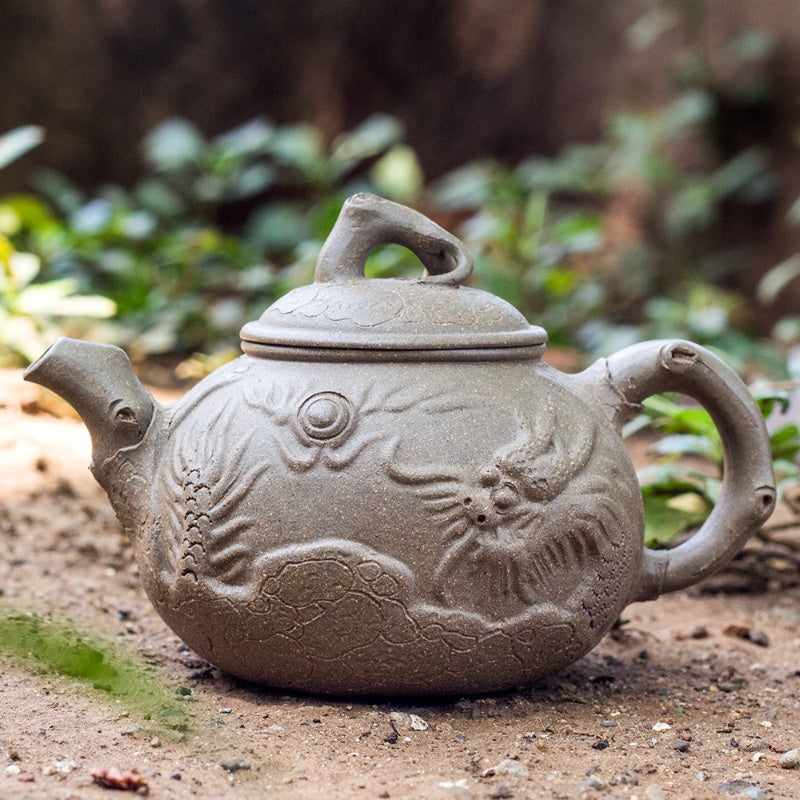 Yixing Emboss Tea Pot