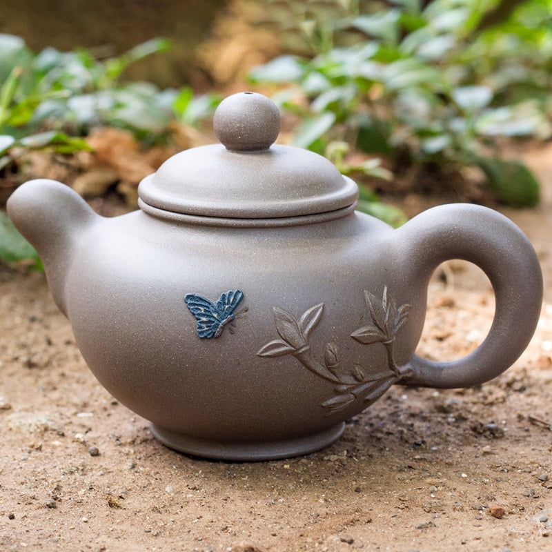 Embossed Bloom Tea Pot
