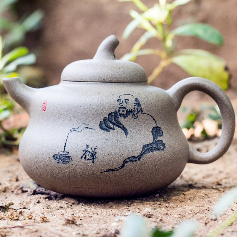 Monk's philosophy Tea Pot