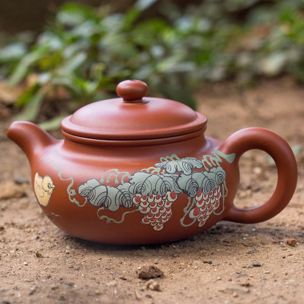 Fragrant Garden Tea Pot