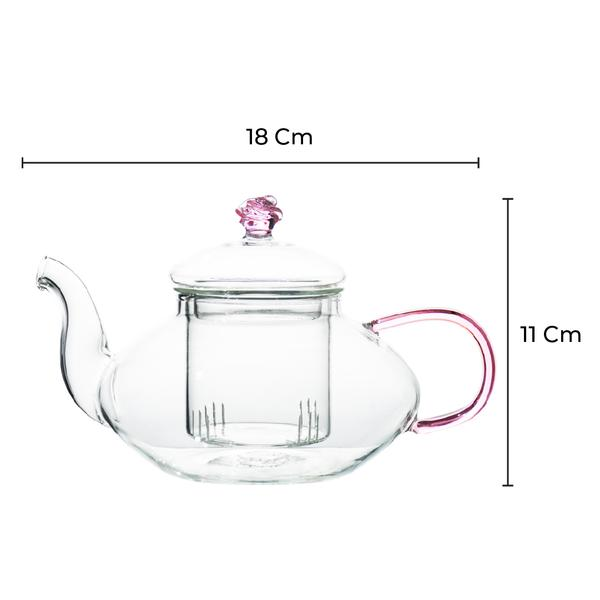 Rose Garden Tea Pot