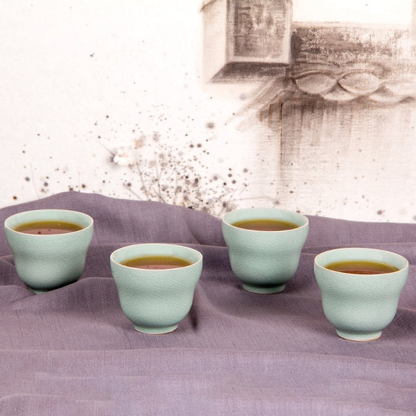 Green KimoNot Safe Tea Set