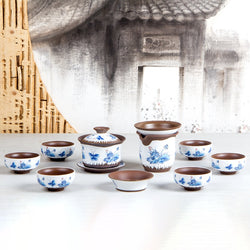 Emperor's Disciples Tea Set