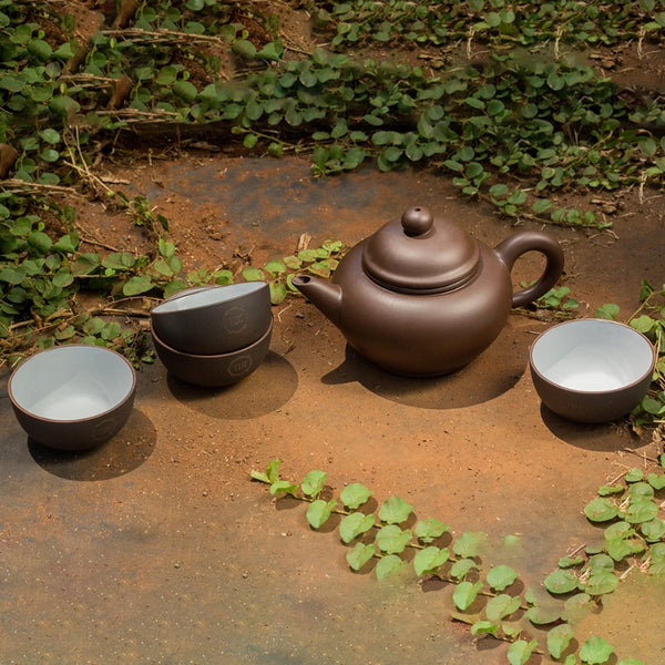 Red Earth Tea Set