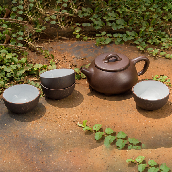 Brown Empress Tea Set