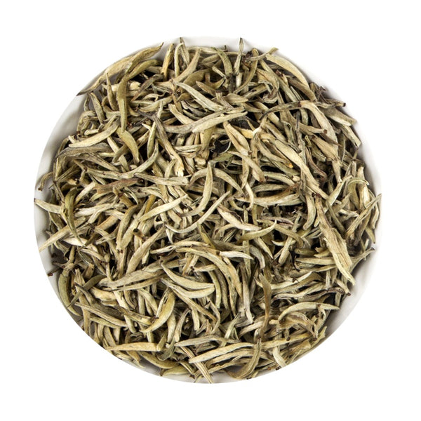 Chinese White Silver Needle Bud - Or Loose Leaf Tea Tin, 100G