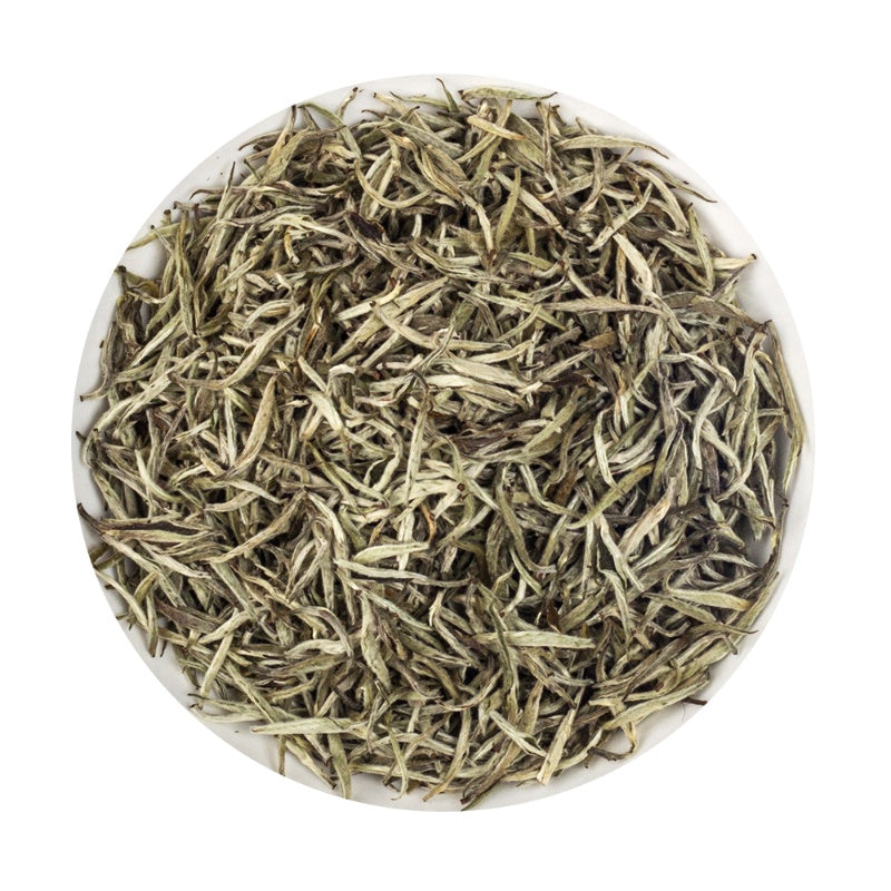 Organic Darjeeling White Silver Needle buds - Platine Loose Tea Tin,  75G