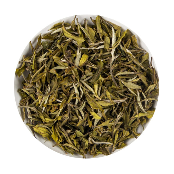 Indian Organic White Bai Mudan - Platine Loose Leaf Tea Pouch, 100G
