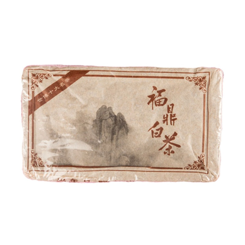 Chinese Fujian White Old Shou Mei Brick Shape Tea (500gms)