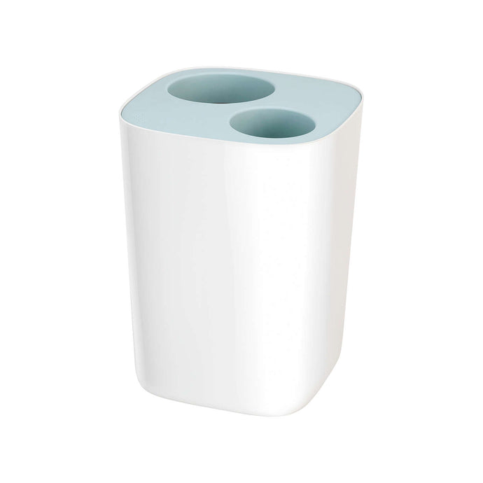 Joseph Joseph Split Bathroom Waste Bin Blue - art-of-living-cookshop