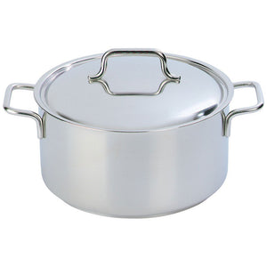 Demeyere Apollo Casserole with Lid 16cm / 1.5L Stainless Steel - art-of-living-cookshop