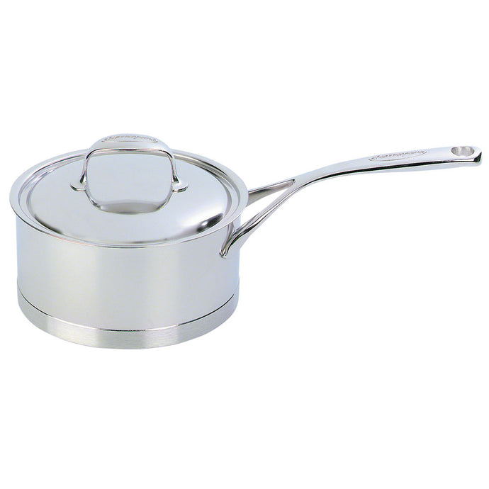 Demeyere Atlantis Saucepan with Lid 20cm / 3L Stainless Steel - art-of-living-cookshop