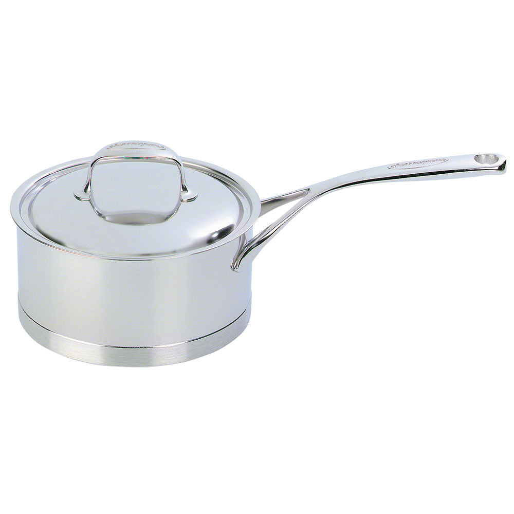 Demeyere Atlantis Saucepan with Lid 16cm / 1.5L Stainless Steel - art-of-living-cookshop