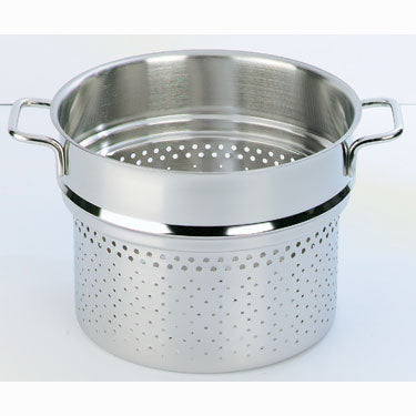 Demeyere Apollo Pasta Insert 20cm Stainless Steel - art-of-living-cookshop