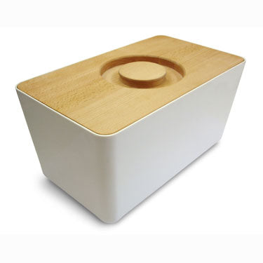 Joseph Joseph Bread Bin White 80041 - art-of-living-cookshop