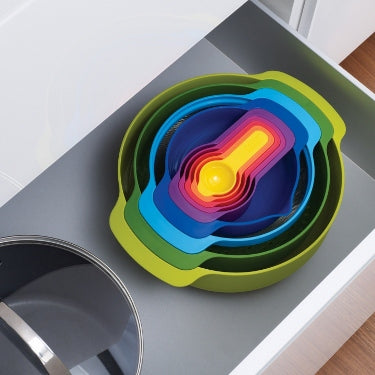 Joseph Joseph Nest of 9 Multi Coloured Set - art-of-living-cookshop