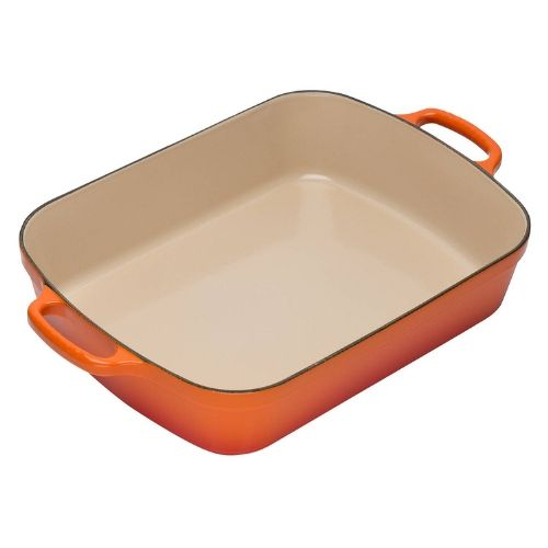 Le Creuset Signature Cast Iron Rectangular Roaster Volcanic