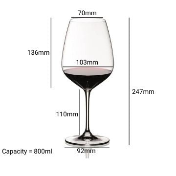 Riedel Extreme Wine Glasses