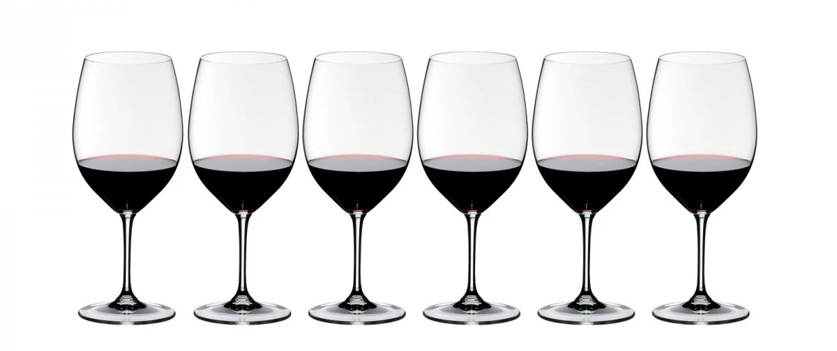Riedel Vinum Bordeaux Glasses (Set of 6)