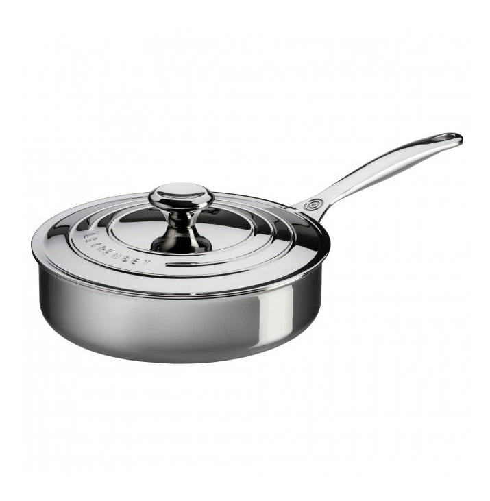 Le Creuset Signature Stainless Steel Saute Pan