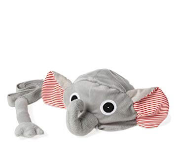 Oskar & Ellen elephant hat tail set available at Gwen & Friends