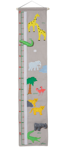 Oskar + Ellen Wild Animal Safari Height Chart
