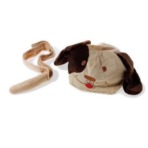 Oskar & Ellen dog hat tail set available at Gwen & Friends