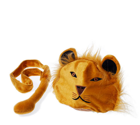Oskar & Ellen lion toy hat tail set available at Gwen & Friends