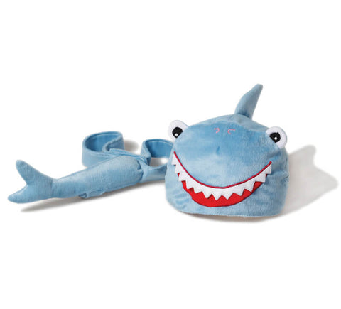 Oskar & Ellen baby shark toy hat tail set available at Gwen & Friends
