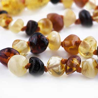 Nature's Child Baltic Amber Necklace - Alex and Moo