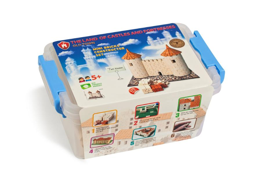 Mini Constructor Set - Two Towers - Alex and Moo