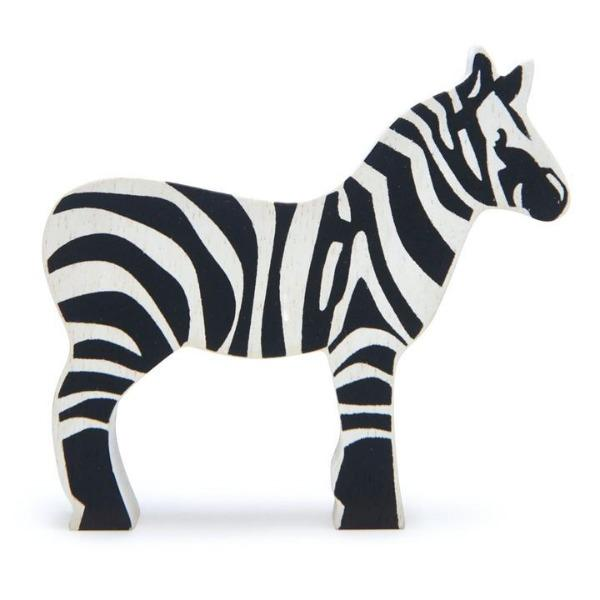 Copy of Tender Leaf Toys | Wooden Animals - Zebra - Alex and Moo